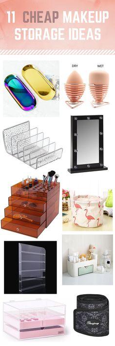 Makeup Storage Solutions, Makeup Organization, Makeup Haul, Makeup And Beauty Blog, High End Makeup, Makeup Swatches, Drugstore Makeup, Makeup Collection, Home Accessories