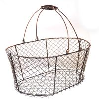 Stella Oblong Wire Basket with Swing Handle - Copper Lucky Clover Trading is a wholesale baskets distributor and importer of baskets wholesale through a wholesale gift basket suppplies company. Inexpensive Home Decor, Cheap Home Decor, Diy Home Decor, Metal Baskets, Storage Baskets, Copper Basket, Cheap Baskets, Egg Storage, Wire Storage