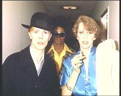 "David Bowie Wonderworld Message Board: Bowie. ""Fame"" Mainman."