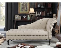 online shopping for Rosevera Deedee Chaise Lounge, Beige from top store. See new offer for Rosevera Deedee Chaise Lounge, Beige Tufted Chaise Lounge, Couch With Chaise, Chaise Lounges, Lounge Chairs, Lounge Cushions, Lounge Design, Chinoiserie, Living Room Furniture, Dining Rooms