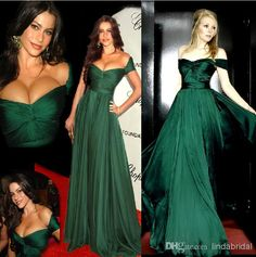 Dark Green Evening Dresses Off the Shoulder Long Celebrity Dresses Sexy Formal Gown robe soiree long dresses Prom Dresses With Sleeves, A Line Prom Dresses, Cheap Prom Dresses, Prom Party Dresses, Party Gowns, Sexy Dresses, Bridesmaid Dresses, Formal Dresses, Dresses 2013