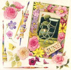 . Marjolein Bastin, Nature Sketch, Nature Artists, Nature Journal, Dutch Artists, Mail Art, Flower Art, Illustrators, Book Art