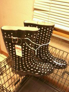 rainboots!