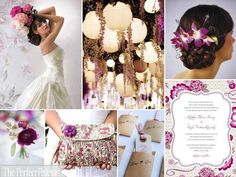 The Perfect Palette: {Sweet Romance}: A Palette of Purples, Greys, Camel, Blush and white
