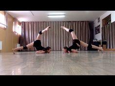 Contemporary tricks | Контемпорари техника | Партер - YouTube