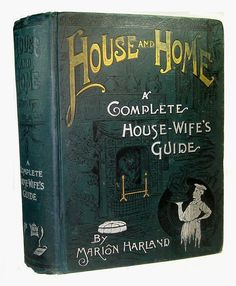 ANTIQUE COOKBOOK Victorian Cookery VINTAGE RECIPES House Home Women Family Guide