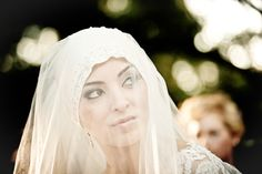 Palestinian wedding hijab