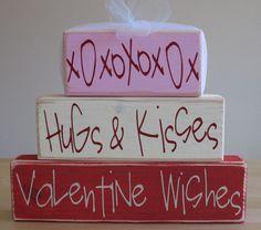 Happy Valentine's Day... Hugs & Kisses, Valentine Wishes