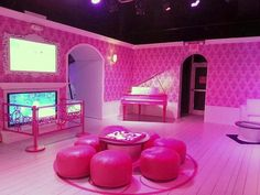 Life size Barbie dream house