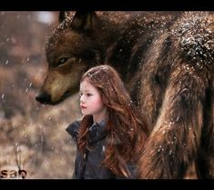 Renesmee and Jacob... beautifully done