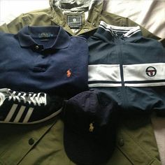 Casual Attire, Casual Wear, Casual Outfits, Différents Styles, Casual Styles, Classic Outfits, Classic Clothes, Sergio Tacchini, Football Casuals