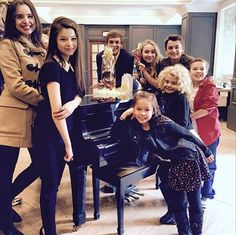 """Lots of great pictures of the """"Further Adventures in Babysitting"""" cast spending time together on Easter (April The DCOM stars Sabrina Carpenter Sabrina Carpenter, Disney Channel Original, Disney Channel Shows, Original Movie, Sofia Carson, Rowan Blanchard, Adventures In Babysitting 2016, Disney Cast, Movies"""