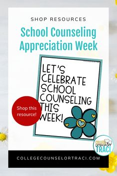 This quick and low-prep National School Counseling Week is perfect for celebrating the counselors in your school! This National School Counseling Week set saves you time informing and spreading the word about what school counselors do! Shop College Counselor Traci for more ideas! #schoolcounseling #nationalschoolcounselingweek #NSCW #counselorappreciation Counselor Bulletin Boards, College Bulletin Boards, Counselor Office, National School Counseling Week, All Colleges, College Success, Appreciation Gifts, Printables, Board Ideas