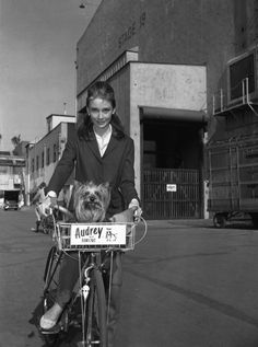 Audrey Hepburn was born on May 4, 1929 in Ixelles, Belgium. In honor of the brilliant actress, fashion icon, and humanitarian, here are 12 photographs of her riding a bike. Must Read: How To Bike in a Skirt Must Read: Marilyn Monroe On A Bike Must Read: Johnny Depp Rides A Bike You may also like... Featured Sep 11, 2016 Vintage outfit inspiration Melissa Comment Sep 11, 2016 Vintage outfit inspiration Melissa Comment Day Dresses at the Gatsby Summer Afternoon Sep 11, 2016 Vintage out...