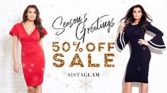 Discover the latest fashion trends in the online fashion shop of SistaGlam by Lipstick Boutique. Get celebrity designed clothing & footwear by SistaGlam and Jess Wright! Jess Wright, Fashion Banner, Dresses For Sale, Latest Fashion Trends, Bodycon Dress, Letters, Celebrities, Winter, Clothes