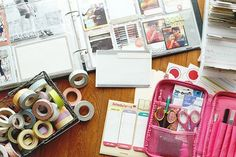 Organizing Journal Supplies | Project Life Organization from FiningNana | DIY Time