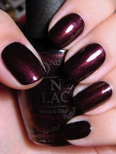 "We dubbed it ""Voluptuous Vamp"" for fall ...   (by OPI but the real name is ""every month is October fest"")"