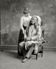In 1913, the Sioux chief Hollow Horn Bear led a delegation of Indians to the inauguration of President Woodrow Wilson. He caught pneumonia during the visit and died.