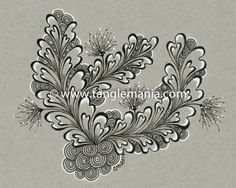 This is an 8 x 10 inch print of an original hand-drawn Zentangle® inspired piece of art by Caren Mlot. The print is created using an ultra high