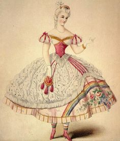 OMG, I think I may have found my next Halloween costume!!!  Victorian Rainbow Brite anyone?