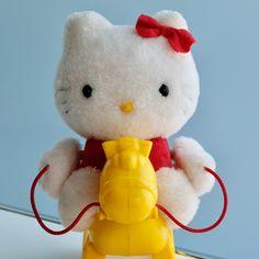 ヤフオク! - ハローキティの乗馬あそび キティちゃん Hello Kitty Toys, Cat Toys, Teddy Bear, Teddybear