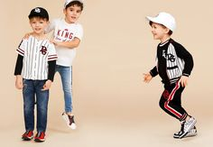 Brown Hair Boy, Aw 2018, Kids Wear, Boy Fashion, Kids Boys, Trends, Baby, T Shirt, How To Wear