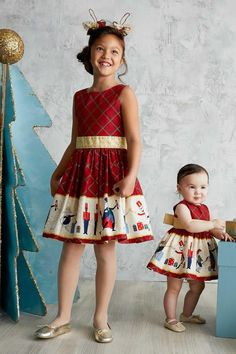 a66d8bda1 Girls Holiday Ballet Dress - alt3 Little Girl Christmas Dresses, Girls  Valentine Dresses, Kids
