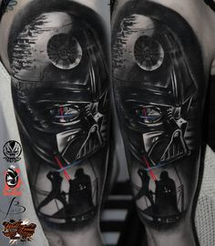 "NEW TATTOO :) STAR WARS <3 Marek ""Maras"" Rydzewski @ Old Sailor Tattoo Warszawa"