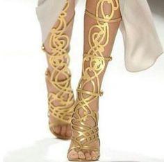 Guiseppe Zanotti Greek goddess spartiate sandals