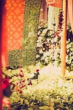 Mumbai weddings | Bhavik & Nandita wedding story #decor #mehendidecor #wedmegood