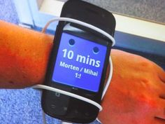 This Is One Of Google's Early Prototypes For Android Wear .  #makemyday #makemyfriday  http://makemyfriday.com/2014/06/this-is-one-of-googles-early-prototypes-for-android-wear/