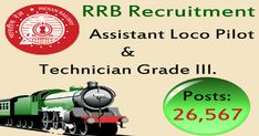 Railway RRB ALP, Technician Recruitment 2018 Online Form Last Date:  05/03/2018 To Know More: http://www.bycnow.com/job_opportunities.aspx