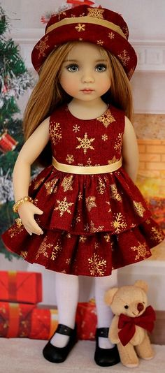 Baby Clothes Patterns Bitty Ideas For 2019 Sewing Doll Clothes, American Doll Clothes, Sewing Dolls, Girl Doll Clothes, Girl Dolls, Pretty Dolls, Cute Dolls, Beautiful Dolls, Baby Clothes Patterns