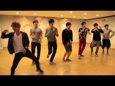 BTOB WoW Dance Practice - YouTube