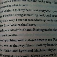 Divergent. Tobias and tris <3333