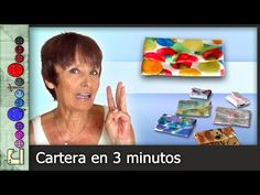 CosoQueTeCoso: Carterita tres minutos Sewing Tutorials, Sewing Projects, Sewing Techniques, Origami, Diy And Crafts, Coin Purse, Quilts, Make It Yourself, Purses