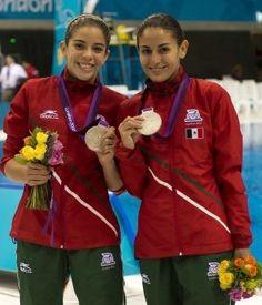Paola Espinosa y Alejandra Orozco, clavadistas mexicanas, ganaron la medalla de Plata, la segunda para México en Londres 2012. Orgullo Mexicano