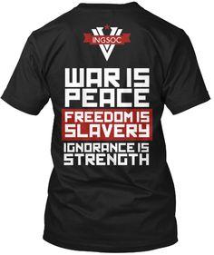 WAR IS PEACE | Teespring