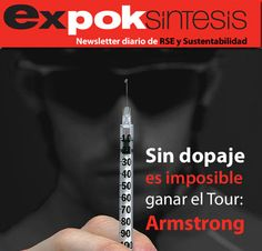 "Armstrong advierte que ""sin dopaje, es imposible ganar el Tour"" http://www.expoknews.com/2013/06/28/armstrong-advierte-que-sin-dopaje-es-imposible-ganar-el-tour/"