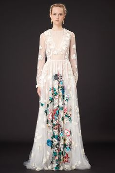 Fashion Fantasies: Valentino Resort 2015 | The English Room / FLORAL Dress / haute couture