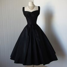 vintage dior dresses | vintage 1950s dress ...designer couture SUZY PERETTE dior inspired new ...