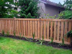 1000 Images About Cedar Fence Design On Pinterest Cedar