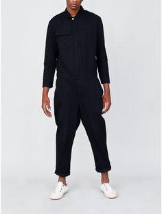OAK Boiler Suit Black