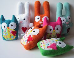 owls for woodland party favors