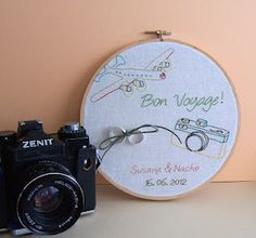 Embroidery Hoop Wedding