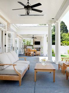 Outdoor Room Series: Covered Porches