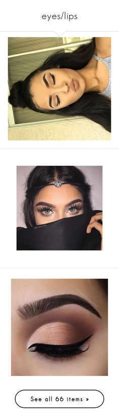 """eyes/lips"" by asiasmithswag ❤ liked on Polyvore featuring hair, makeup, home, home decor, beauty products, lip makeup, lipstick, lips, beauty and fillers"