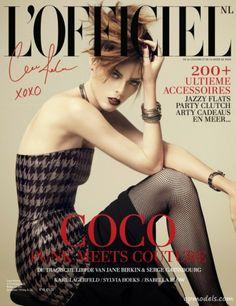 Coco Rocha for L'Officiel Netherlands (January 2014) - http://qpmodels.com/american-models/coco-rocha/4699-coco-rocha-for-lofficiel-netherlands-january-2014.html