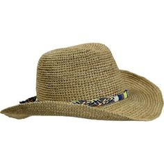 13cfacdc5f8 Turtle Fur Vermont Collection Beach Cowboy Raffia Straw Cowboy Style Hat -  Moosejaw