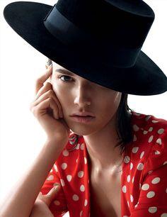 """ Vanessa Moody By Camilla Akrans For Vogue Germany February 2015 """